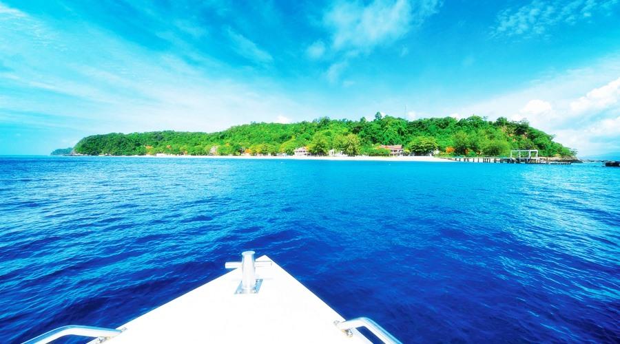 ทริปเกาะไม้ท่อน(ดำน้ำ) – เกาะเฮ – เกาะราชา เต็มวัน โดย เรือเร็ว
